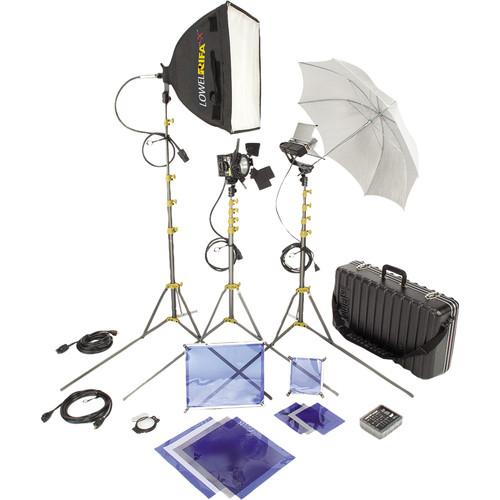 Lowel DV Core 500, TO-83 Case