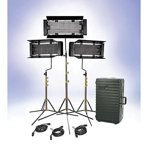 Lowel Trio 3-Light (Daylight) Fluorescent Kit (120-240V)