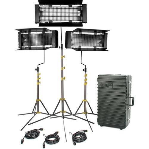 Lowel Trio 3-Light (Tungsten) Fluorescent Kit (120-240V)