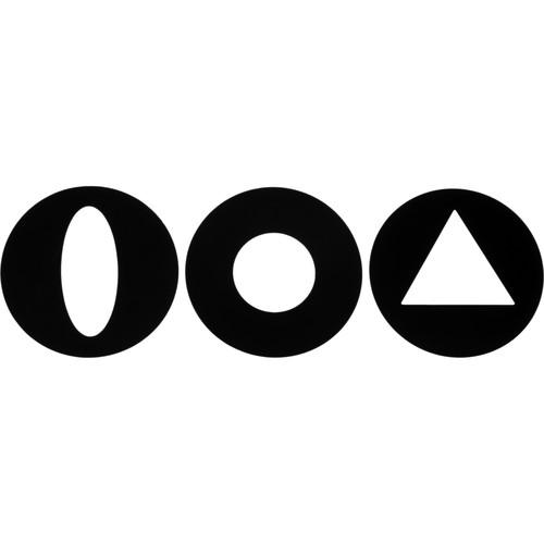 Lowel 3 Snoot Patterns for Fren-L 650