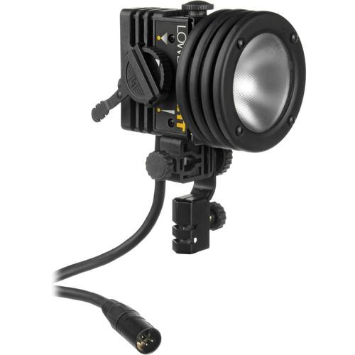 Lowel I-light 100 Watt Focusing Flood Light with 4-Pin XLR Connector (12-30VDC)