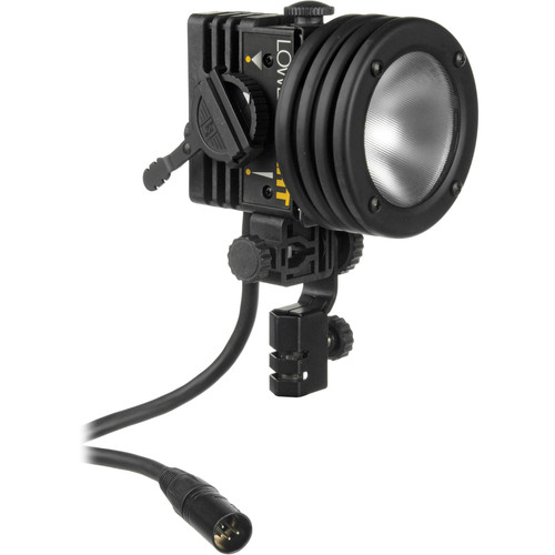 Lowel I-light 100 Watt Focusing Flood Light, 4-Pin XLR Connector (12-30VDC)