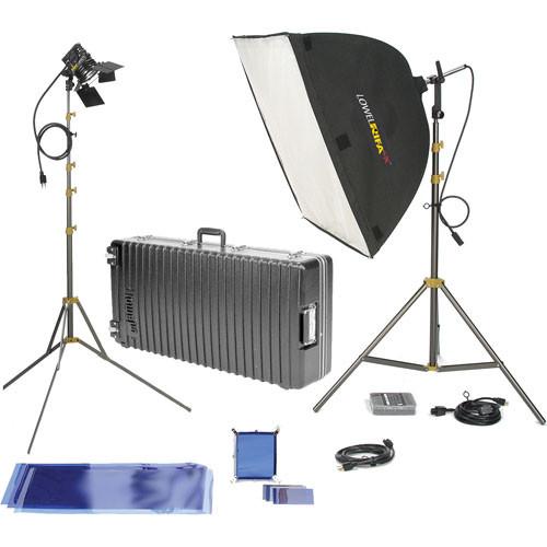 Lowel Rifa eX 88 Pro Kit, Wheeled Multi-Case