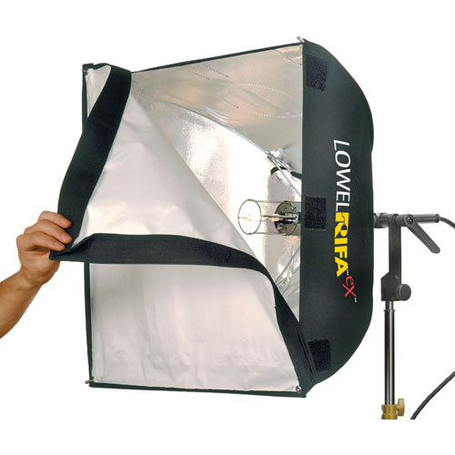 Lowel LC55EX Rifa-Lite eX Softbox Light with Lamp (120-240 VAC)