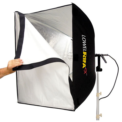 Lowel Rifa-Lite EX88 1000 Watt Softbox Light with Lamp (120V-240VAC)