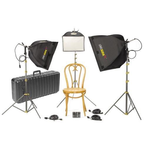 Lowel Rifa eX Small Triple Soft Kit, TO-83 Hard Case
