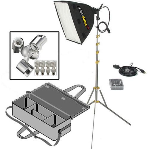 Lowel Rifa 44 eXtra/Flo Kit, LB-30 Soft Case