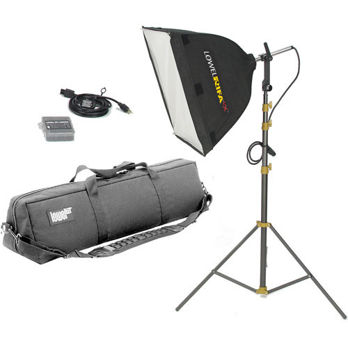 Lowel Rifa-Lite EX55 Softbox Light Kit, LB40 Soft Case (120-240VAC)