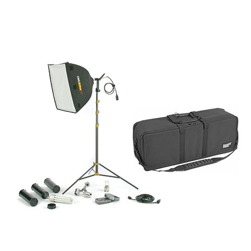 Lowel Rifa 55 eXtra/Flo 80 Kit with Soft Case (120 VAC)