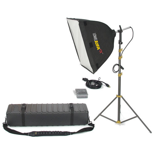 Lowel Rifa-Lite EX55 Softbox Light Kit, Hard Case (120-240VAC)