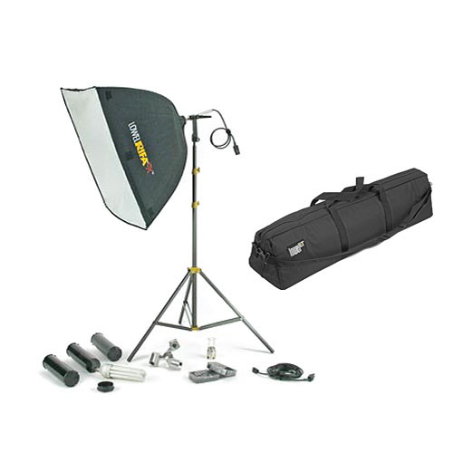 Lowel Rifa 88 eXtra/Flo 80 Kit W/Soft Case (120VAC)