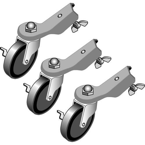 Lowel Lockable Casters (Set of 3)