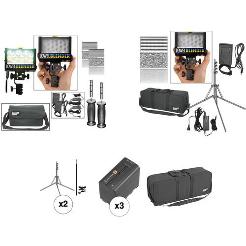 Lowel Blender 3-Light Kit