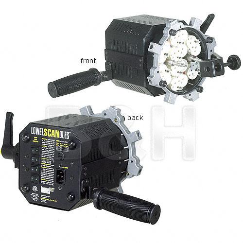 Lowel Scandles Fluorescent Light Fixture (120-230VAC)