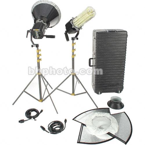 Lowel Scandles Fluorescent Two Light 3000K Kit (120-230VAC)