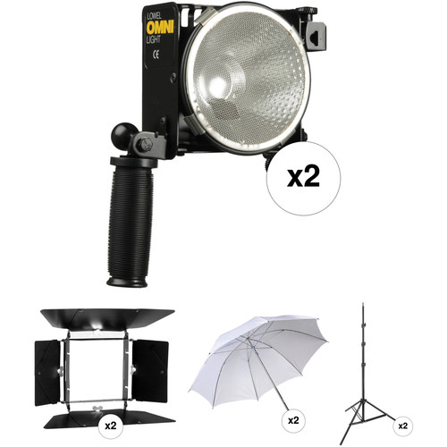 Lowel Omni-light Two-Light Kit