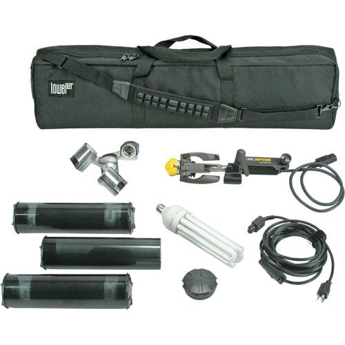 Lowel SoftCore FLO-X3 Kit (120/230VAC)