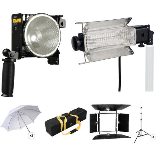 Lowel Tota-Omni Two-Light Kit