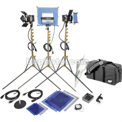 Lowel GO Intro Kit with LB-30 Soft Case