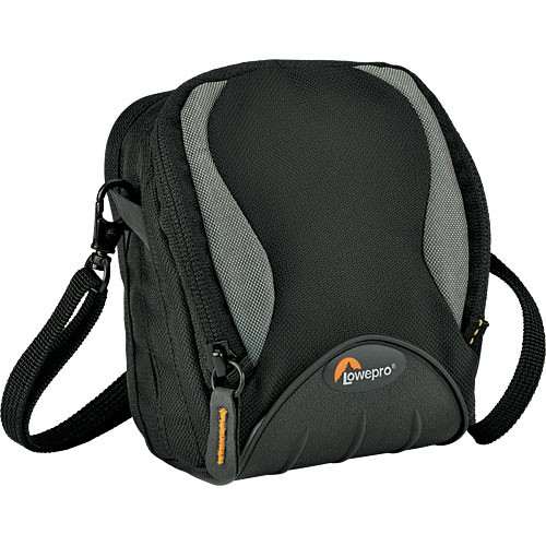 Lowepro Apex 60 AW All-Weather Camera Pouch for Compact Camera & Accessories (Black)
