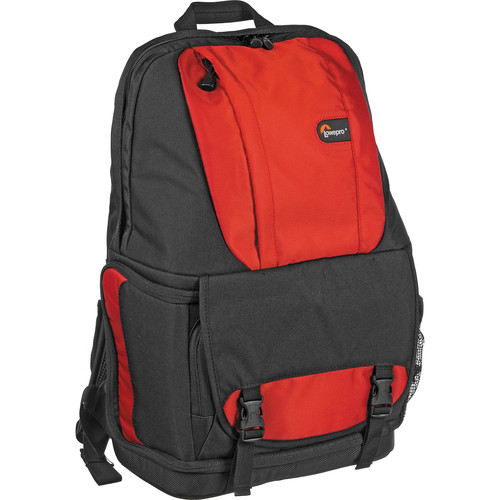 Lowepro Fastpack 200 Backpack (Red/Black)