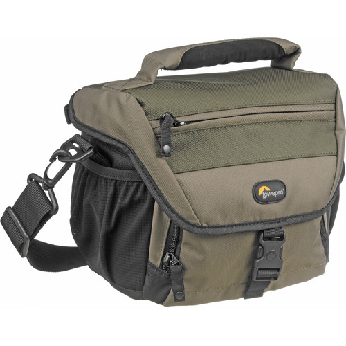 Lowepro Nova 160 AW Shoulder Bag (Chestnut Brown with Black Trim)