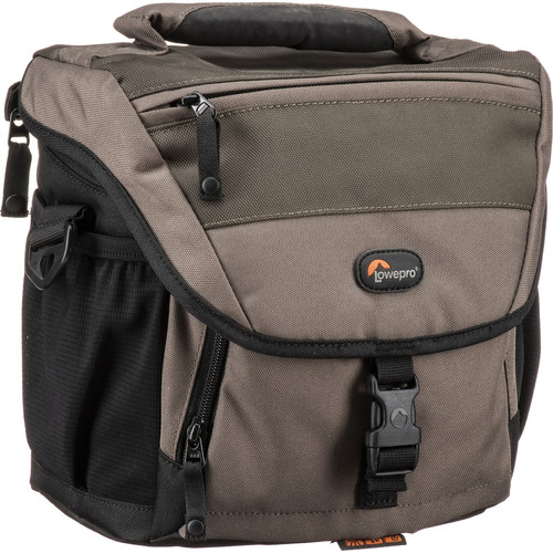 Lowepro Nova 170 AW Shoulder Bag (Chestnut Brown with Black Trim)