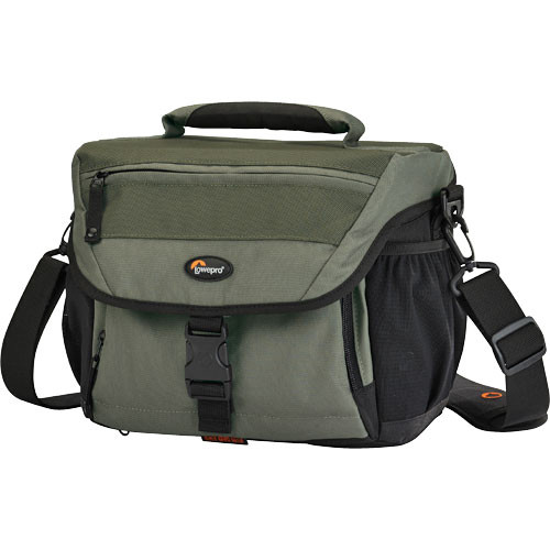 Lowepro Nova 180 AW Shoulder Bag (Chestnut Brown with Black Trim)