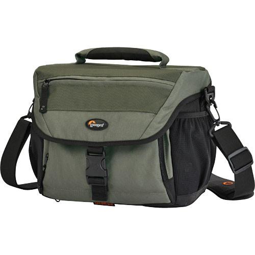 Lowepro Nova 180 AW Shoulder Bag (Chestnut Brown with Black Trim)