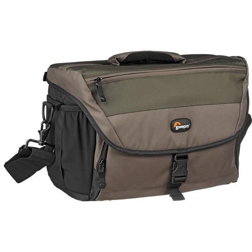 Lowepro Nova 200 AW Shoulder Bag (Chestnut Brown with Black Trim)