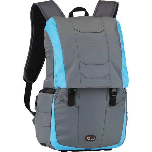 Lowepro Versapack 200 AW Backpack (Gray and Polar Blue)