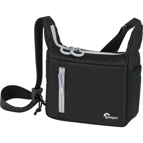 "Lowepro StreamLine 100 Shoulder Bag (8.1 x 3.5 x 8.7"", Black)"