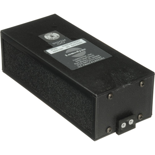 Lumedyne Battery Case Without Battery for Lumedyne Regular Battery
