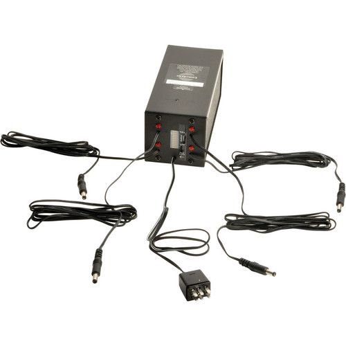 Lumedyne Quad Hyper Charger w/Gauge for Europe (90-260VAC)