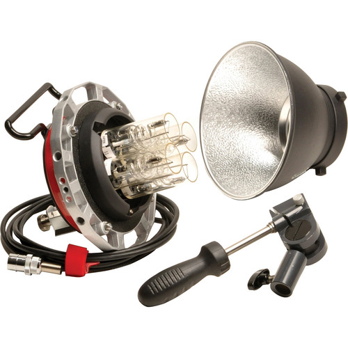 Lumedyne H4QS QuadSpeed 4-Bulb 3200Ws Head