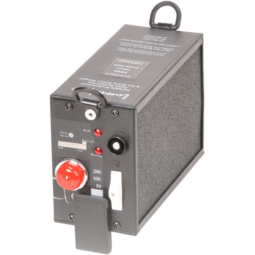 Lumedyne 200 Watt Second Action Power Pack - Xtra Short Flash Duration, Xtra Fast Recycle