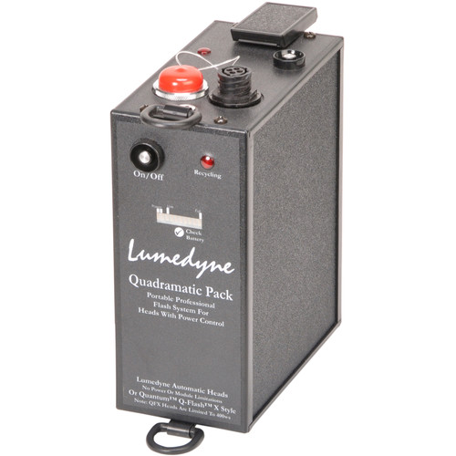 Lumedyne 400 W/S Power Pack for Quantum X2 - Xtra Fast Recycle