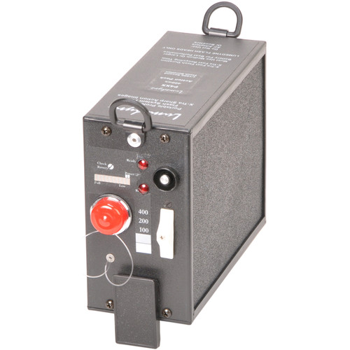 Lumedyne 400 Watt Second Action Power Pack - Xtra Short Flash Duration, Xtra Fast Recycle