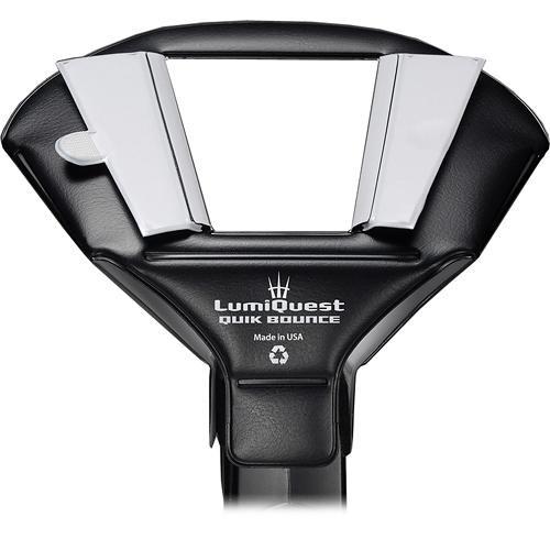 LumiQuest Quik Bounce Light Modifier for Shoe Mount Flashes