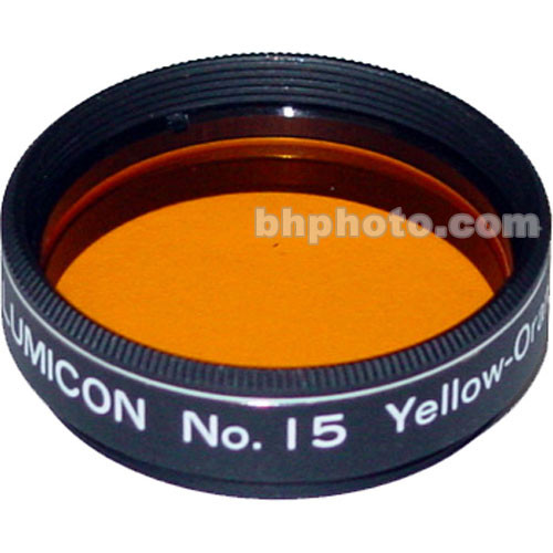 "Lumicon Dark Yellow #15 1.25"" Filter"