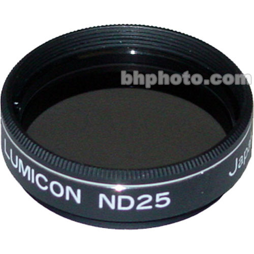 "Lumicon Neutral Density #25 1.25"" Filter"