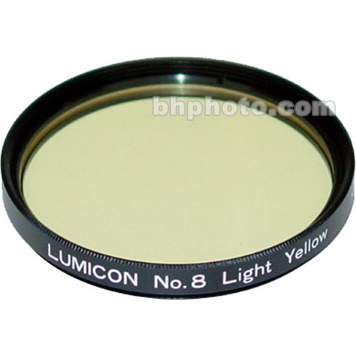 "Lumicon Light Yellow #8 48mm Filter (Fits 2"" Eyepieces)"
