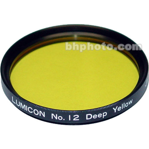 "Lumicon Yellow #12 48mm Filter (Fits 2"" Eyepieces)"