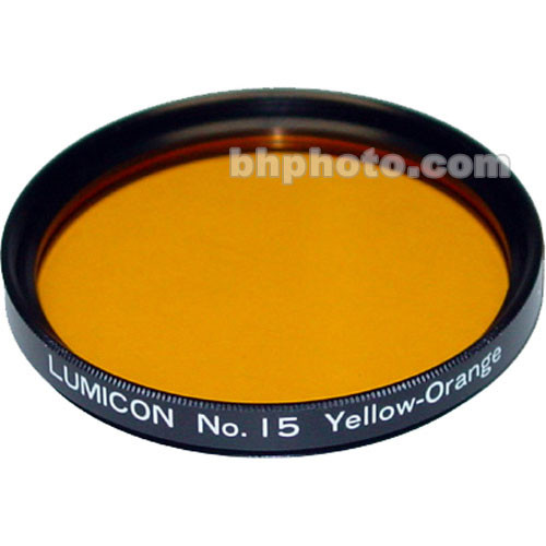 "Lumicon Dark Yellow #15 48mm Filter (Fits 2"" Eyepieces)"