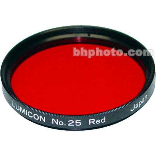 "Lumicon Red #25 48mm Filter (Fits 2"" Eyepieces)"