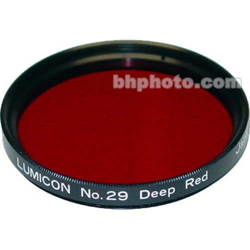 "Lumicon Dark Red #29 48mm Filter (Fits 2"" Eyepieces)"