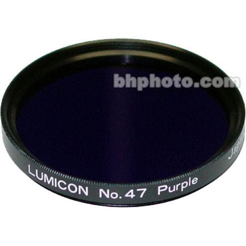 "Lumicon Violet #47 48mm Filter (Fits 2"" Eyepieces)"