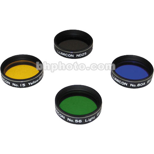 "Lumicon 1.25"" Lunar & Planetary Filter Set (4)"