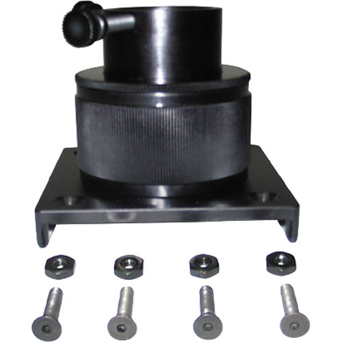 """Lumicon Low-Profile 1.25"""" Focuser with 3 x 3"""" Base"""