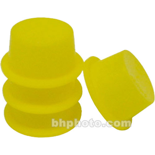 "Lumicon Yellow Dust Plugs for 1.25"" Focusers (Pack of 4)"